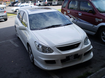 modified Toyota Caldina