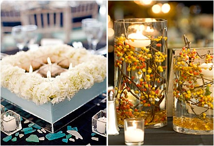 sweet inspirations: alternative centerpieces