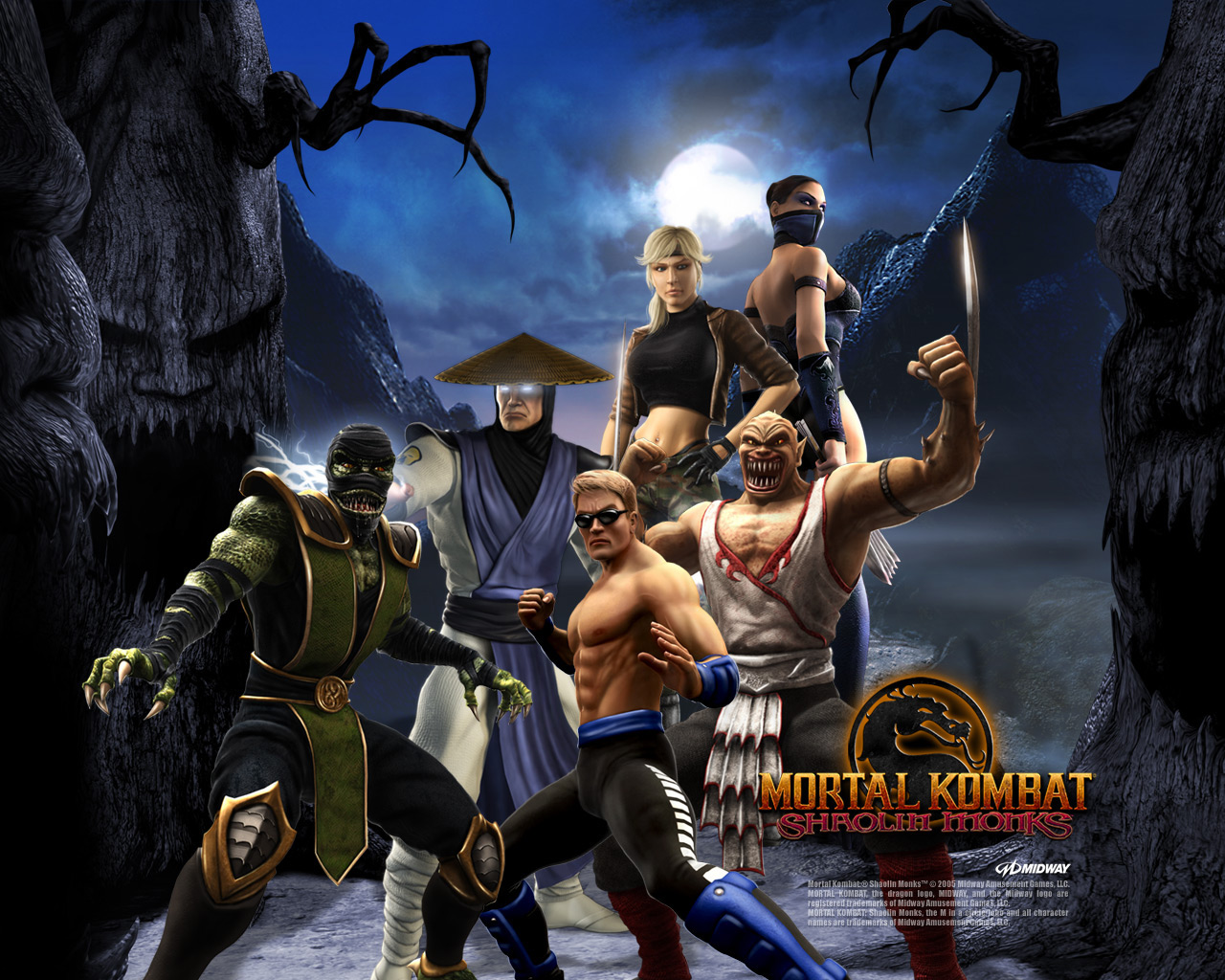 CHEATS FOR MORTAL KOMBAT SHAOLIN MONKS PS2 UNLOCK CHARACTERS