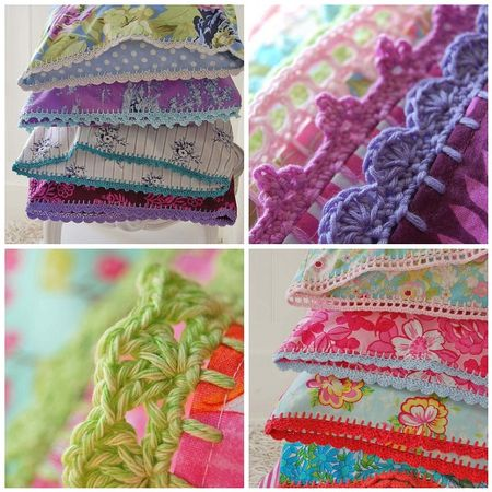 Fast and Easy Crocheted Edging - Crochet – Free Crochet