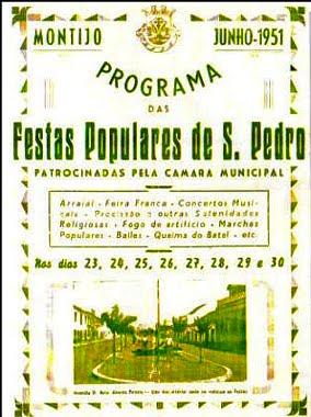 Programa das Festas - 1951