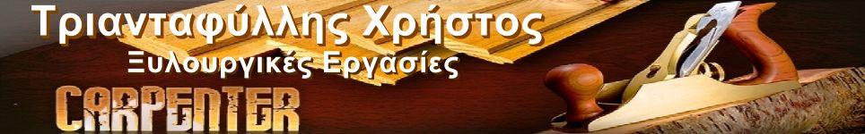 ΤΡΙΑΝΤΑΦΥΛΛΗΣ ΧΡΗΣΤΟΣ - ΞΥΛΟΥΡΓΙΚΕΣ ΕΡΓΑΣΙΕΣ