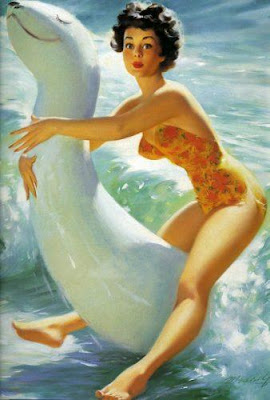 Bill Medcalf pin up
