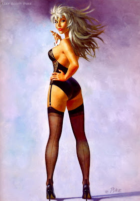 Jay Scott Pike pin up