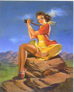 Art Frahm pin up