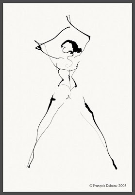 pin-up sketches and drawings