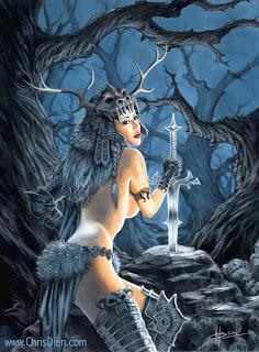 Chris Dien fantasy art
