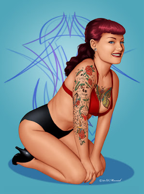 fetish pin up girl