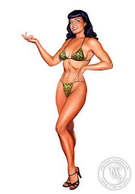 Bettie Page Dave Stevens