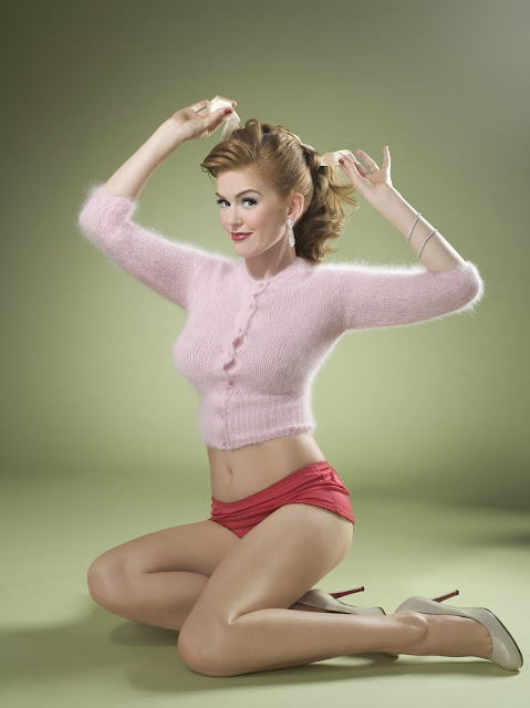 Isla Fisher Pin Up Photo