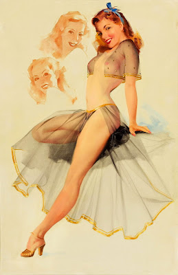 Ted Withers pin up