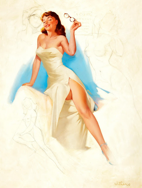 vintage classic pin up