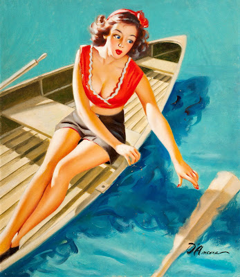 Edward D'Ancona pin up