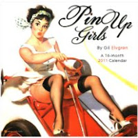 Pin Up Girls 2011 Calendar By Gil Elvgren