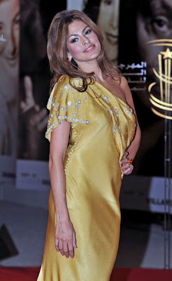 Eva Mendes Lovely In Indian Inspired Dress