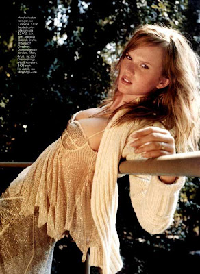 Anne Vyalitsyna Lingerie Posed On Mag's
