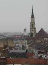 Kolozsvári látkép