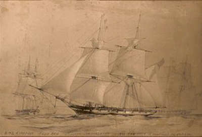 HMS Ringdove, Sister Ship to HMS Sappho - Isaac Sailed in Both These Sloops