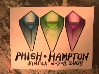 Phish 3/6-8 2009, Hampton Beach, Virginia Somebody call the nitrous mafia, ...