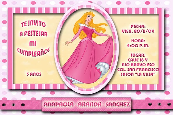 INVITACIONES DIGITALES (princesas Dragon ball campanita bob ...