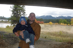 Daddy and Ian Under the Highway