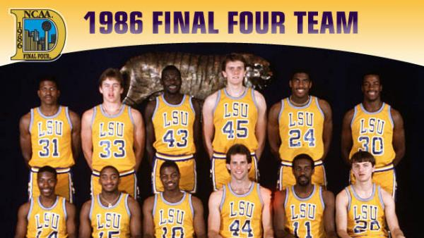 In 1986 Coach Dale Brown Led LSU To Its Second Final 4 Appearance 6 Years The Star Of Team That Season Was Unquestionably John Williams
