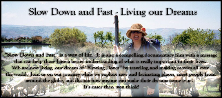 Slow Down and Fast - Living our dreams!