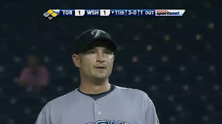 Jason Frasor wonders why he's not throwing strikes