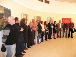 """Exposicion de pintura y escultura """"Novas Pontes"""".Intercambio Cultural Ferrol- Terrassa."""