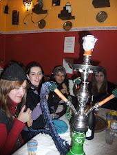 Alumnas de Pontedeume Lucia Marin.Lucia Diaz,Guendy y Paula