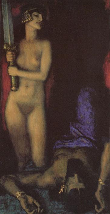 Judith y Holofernes - Franz von Stuck