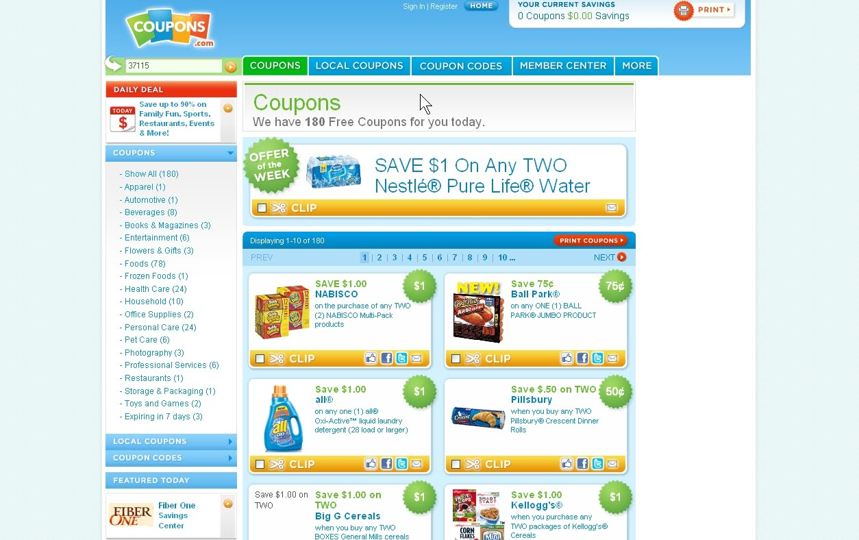 Best place for coupons