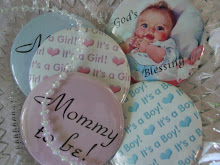 Vintage Baby Shower Favors