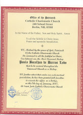 Certificado Episcopal
