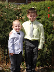 Our 2 boys