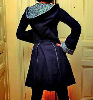veste créateur capuche de lutin