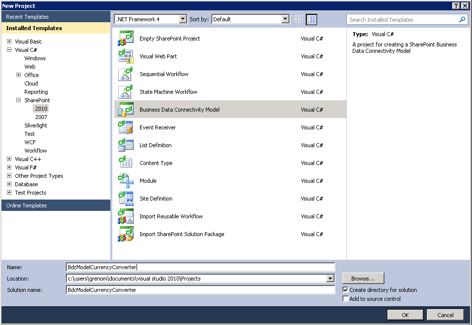 Writing custom web services for sharepoint 2015