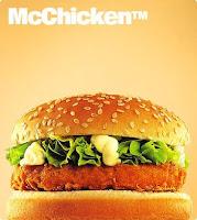 Hamburguesa de Pollo idénticas a las de Mc Donald´s
