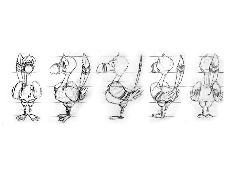 Sheridan College Character Design : The sheridan portfolio review