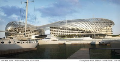 Revit rocks the yas hotel for Asymptote architecture yas hotel