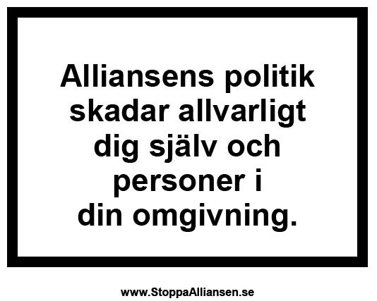 Stoppa Alliansen