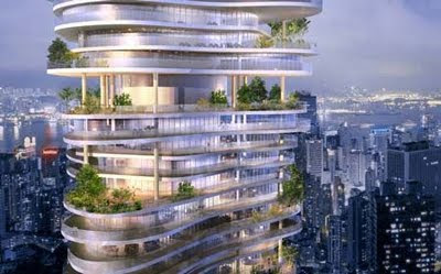 6 - Awesome Skyscraper Urban Forest In Chongqing China