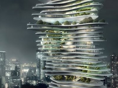 5 - Awesome Skyscraper Urban Forest In Chongqing China