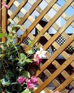 Accesorios para tu jard n celosias for Biombos para jardin