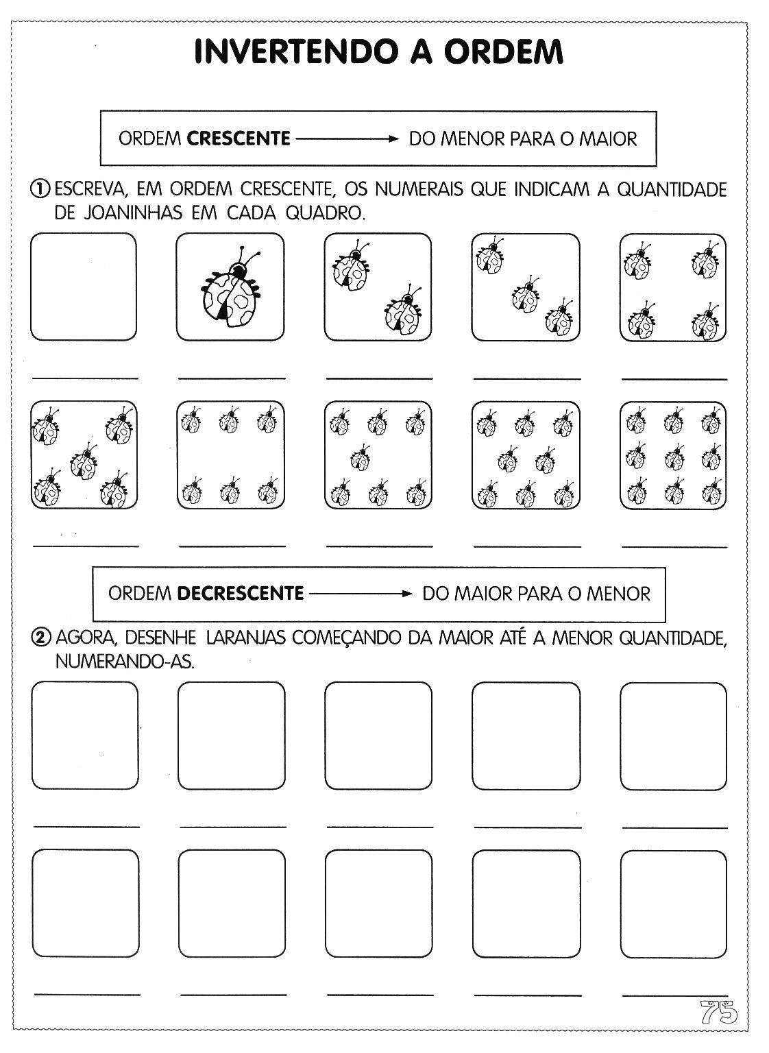 Extremamente Matemática- atividades para 1º ano e jardim III - A ARTE DE EDUCAR  XX82