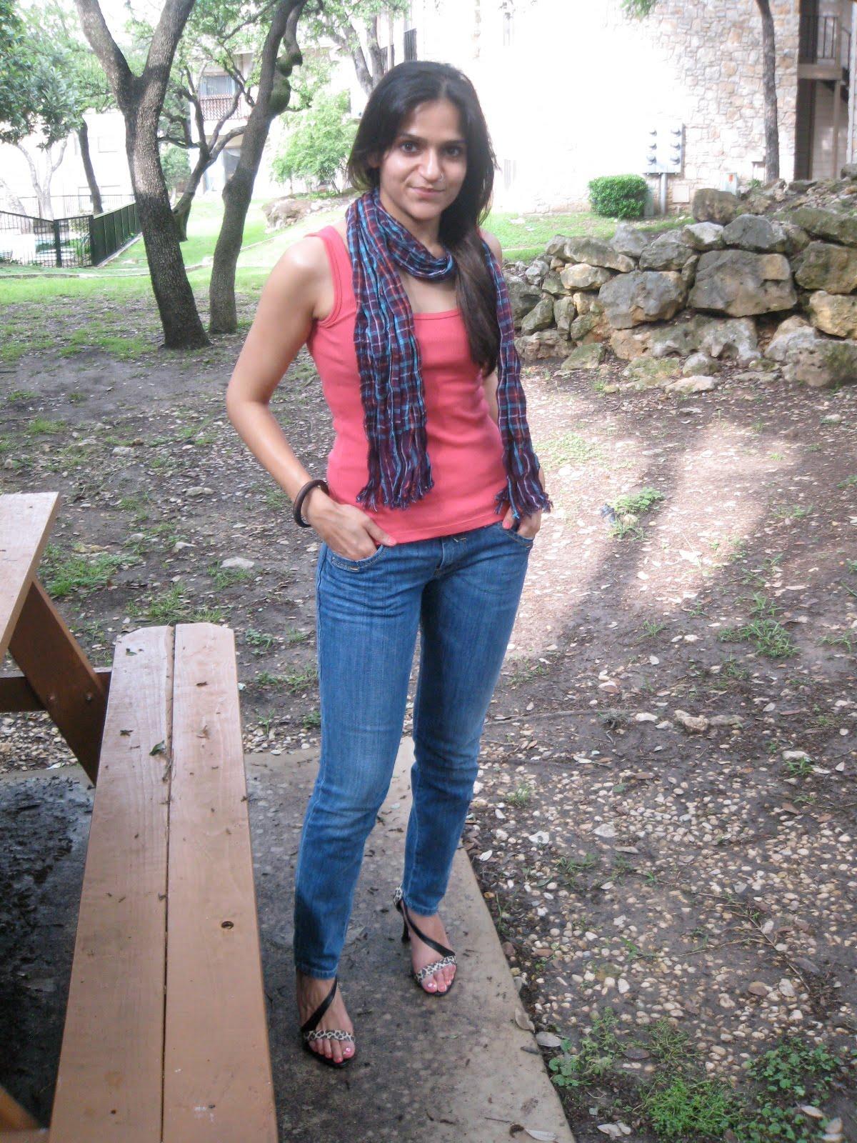 Tank - CK [06']; Jeans - Miss Sixty [09']