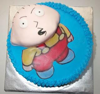 Dora Cake Head Falls Off