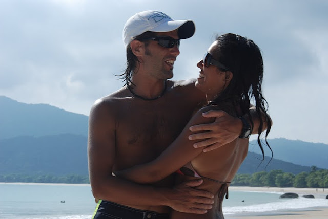 Agus y Giuli en Lopes Mendes