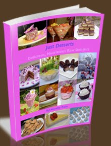 """Just Desserts"" Raw Recipe eBook"