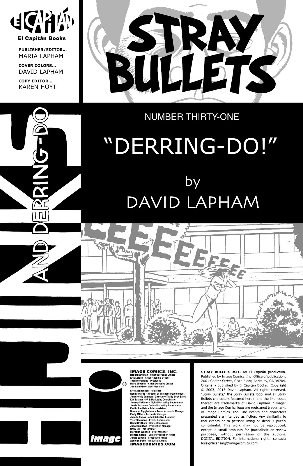Stray Bullets Issue #31 #31 - English 2